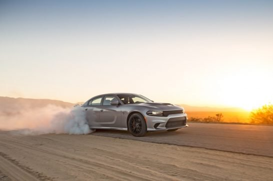 dodge-charger-srt-hellcat-front-three-quarters-burnout