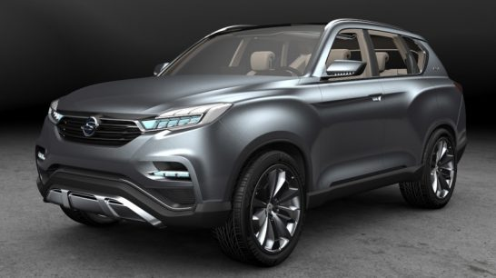 Ssangyong LIV-1 SUV concept
