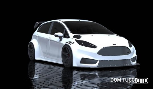 SEMA 2016 - 2016 Ford Fiesta ST by Tucci Hot Rods