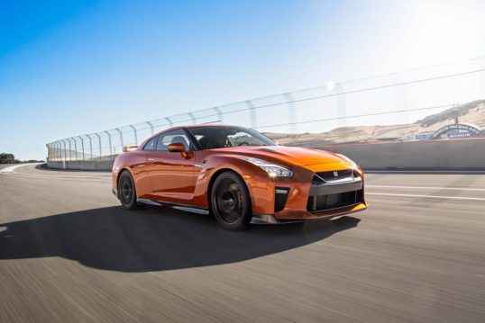 2017-nissan-gt-r-front-three-quarters-in-motion-02
