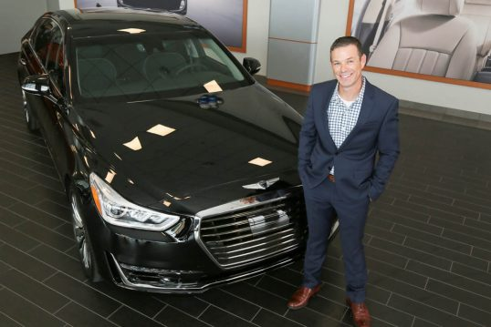 GENESIS PROUDLY DELIVERS FIRST G90 TO CUSTOMER AT ROUND ROCK GENESIS