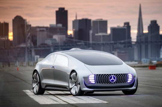 Intelligent Drive Experience with the Mercedes-Benz research car