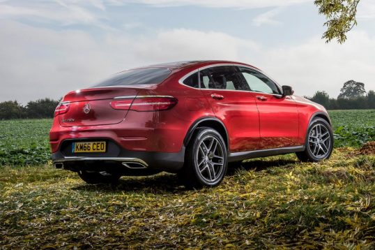 Mercedes GLC Coupe 2016