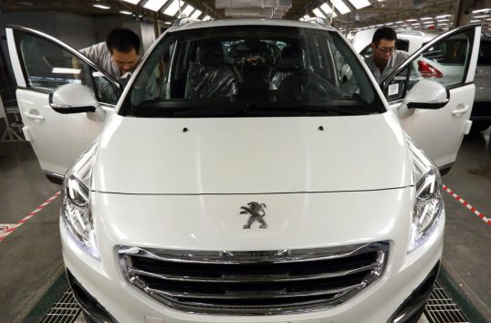 Inside A Dongfend Dongfeng Peugeot-Citroen Plant
