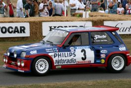 Renault 5 Maxi Turbo (here driven by Jean Ragnotti)