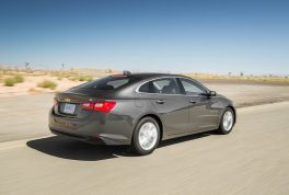 2016-chevrolet-malibu-hybrid-rear-three-quarter-in-motion