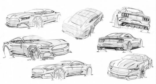 s550-mustang-sketches