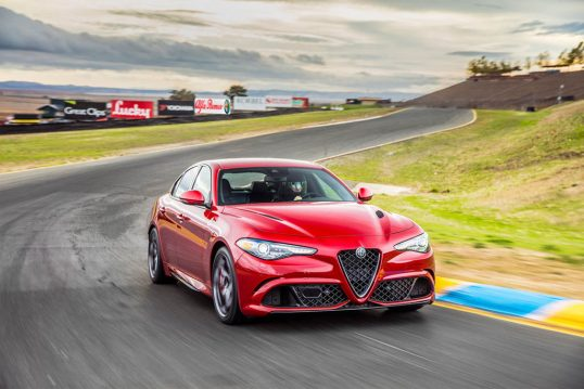 2017-alfa-romeo-giulia-quadrifoglio-front-three-quarter-in-motion-04