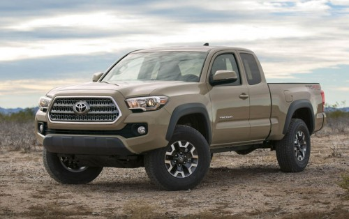 Toyota Tacoma TRD offroad