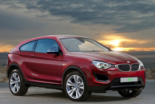 2017 BMW X2 Rendered