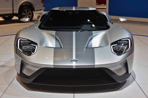 Ford GT Prototype Chicago auto show 2015 live photo