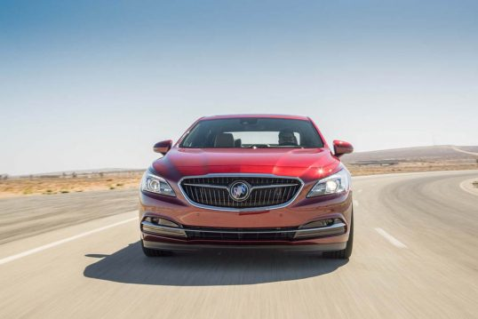 2017-buick-lacrosse-front-end-in-motion