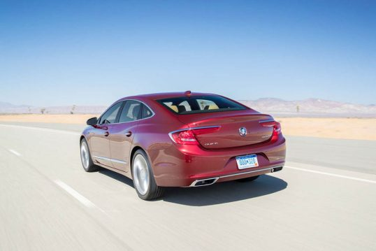 2017-buick-lacrosse-rear-three-quarter-in-motion