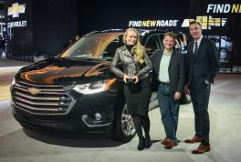 Chevrolet wins Best Production Truck at the 2017 Eyes on Design Awards