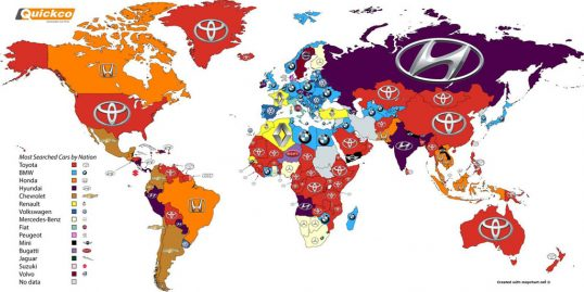 google-most-searched-car-brands
