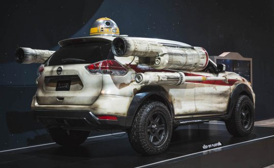 Nissan Rogue X-Wing prototype