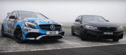 youtuber-drag-races-his-450-hp-mercedes-amg-a45-against-fellow-youtuber-s-bmw-m3_2