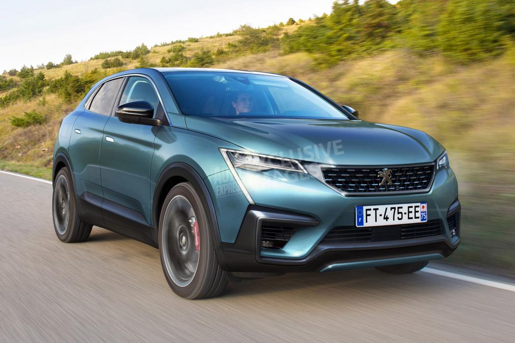 Peugeot 4008 coupe-SUV