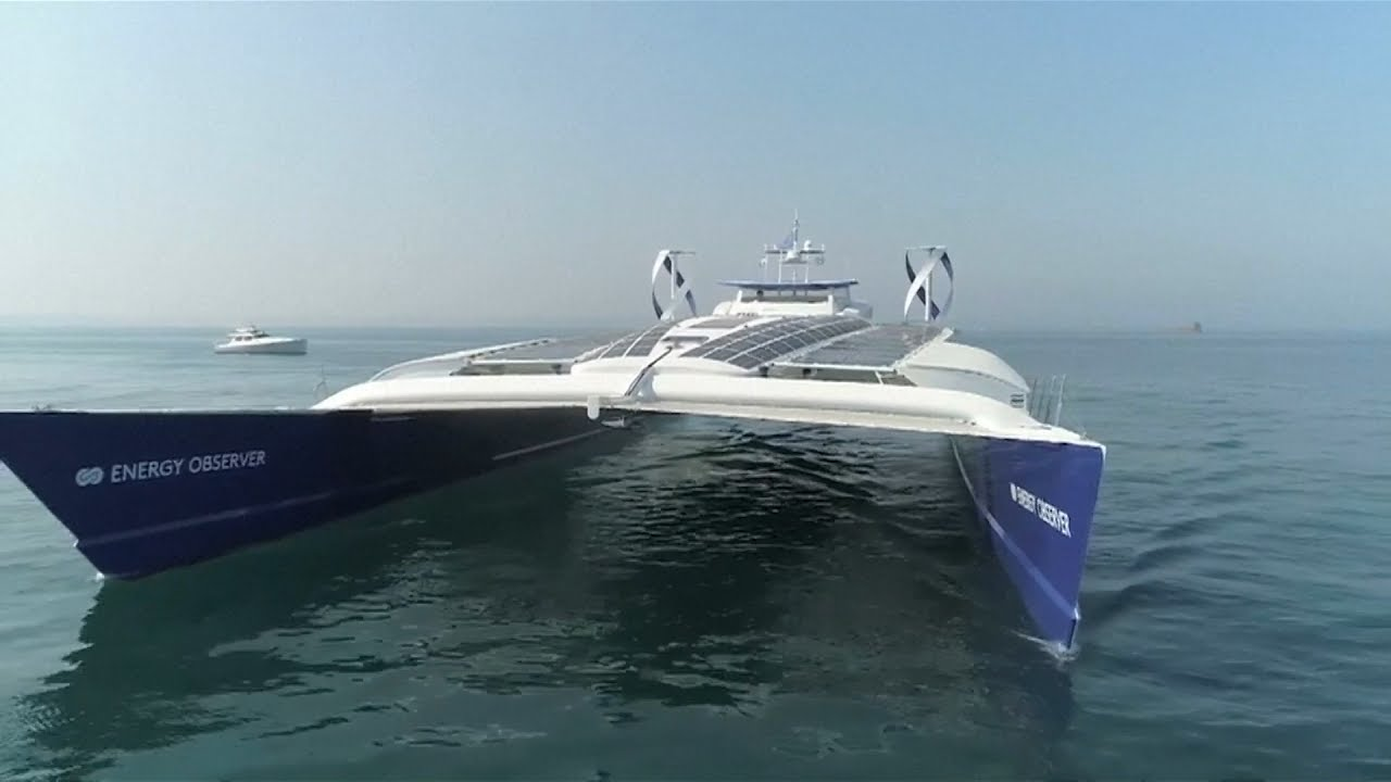 Hydrogen-Powered Ship Toyota