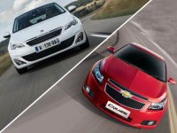 Peugeot 308 Hatchback vs Chevy Cruze Diesel Comparison