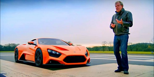envo ST1 with Jeremy Clarkson on Top Gear