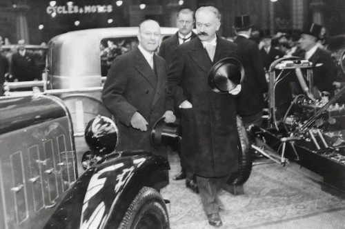 Andre Citroen and Albert Lebrun Paris-1932