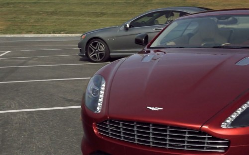 Aston-Martin DB9 and Mercedes-Benz CL65 AMG