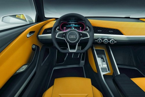 Audi Crosslane Coupe Interior