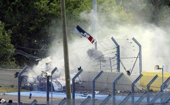 Photo of تصادف و نابودی آئودی R18 در هنگام تمرین مسابقات لومانز