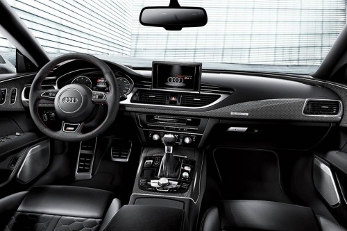 Audi RS7 Exclusive Dynamic Interior