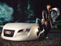 Audi RSQ concept, I Robot,Will smith