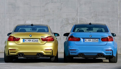 2015 BMW M3 and M4