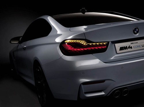 BMW OLED Lights