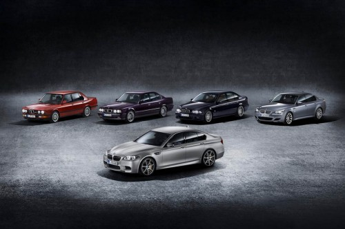 2015 BMW M5 30th Anniversary Edition