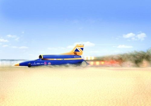 Bloodhound SSC rocket