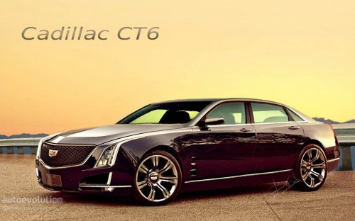 Cadillac CT6 Rendered