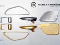 Carlex Mercedes S63 AMG Gold Trim