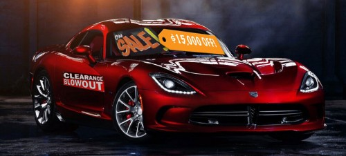Dodge Viper Discounted By $15,000