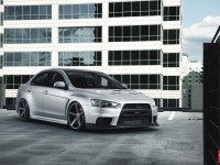 EVO X Vossen Wheels