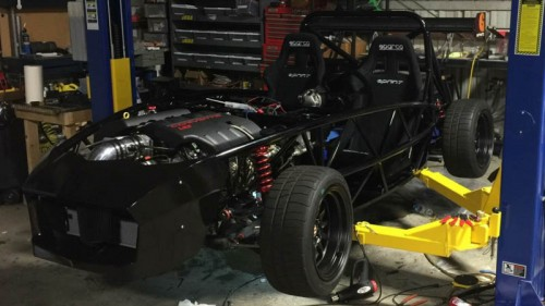 Exomotive Exocet with 525hp LS3 Engine