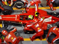 Felipe Massa was one of several who pitted under the SC