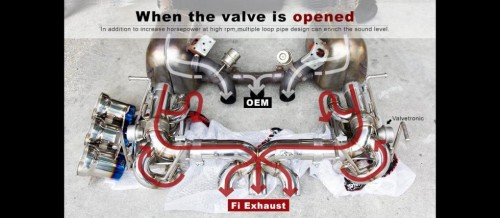 Ferrari 458 Italia F1 Valvetronic Exhaust System by Frequency Intelligent Exhaust