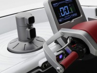 Fomm Concept One floating electric car interior