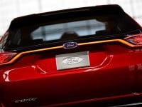 Ford Edge concept rear