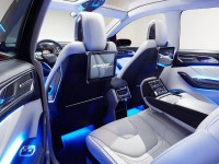 Ford Edge concept seat