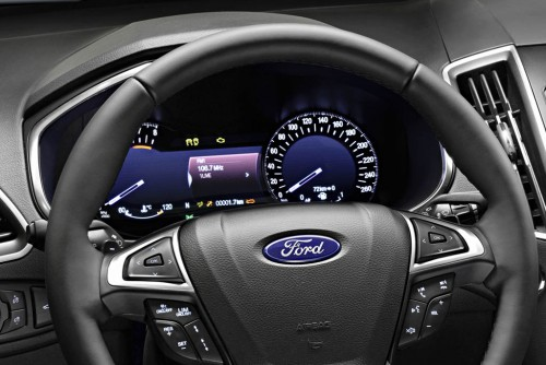 Ford S-MAX 2015 dashboard