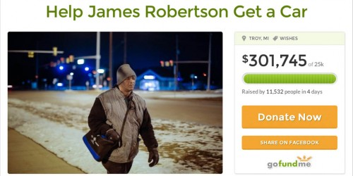 How The Internet Got A Detroiter Who Walks 21 Miles To Work A Free Car