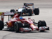 Hulkneberg spent much of the grand prix chasing Alonso