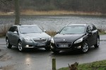 Insignia and peugeot 508