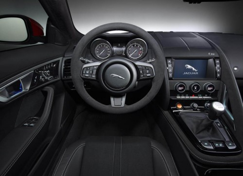 2015 Jaguar F-Type  manual transmission